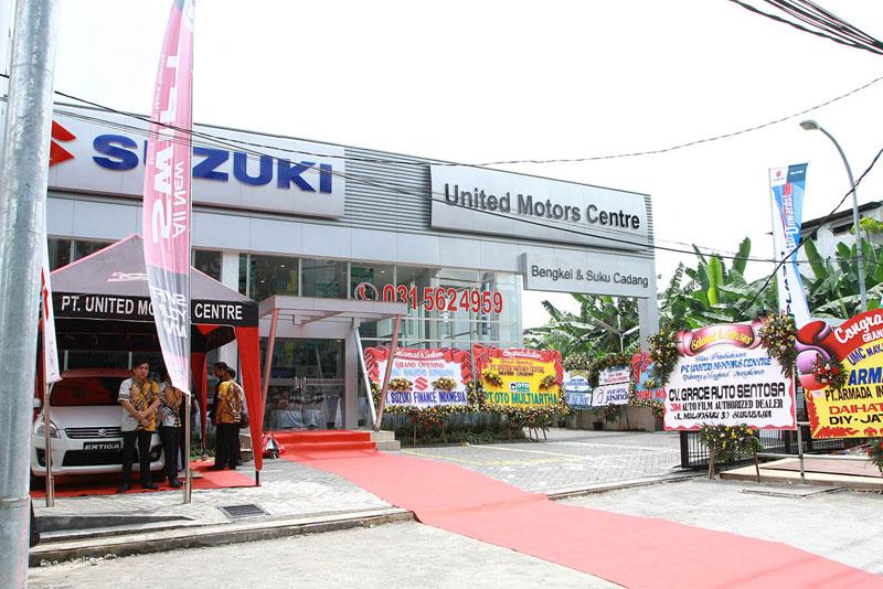 Grand Opening PT United Motors Centre Mayjend Sungkono Surabaya: BUKA CABANG IMBANGI KENAIKAN PASAR MOBIL