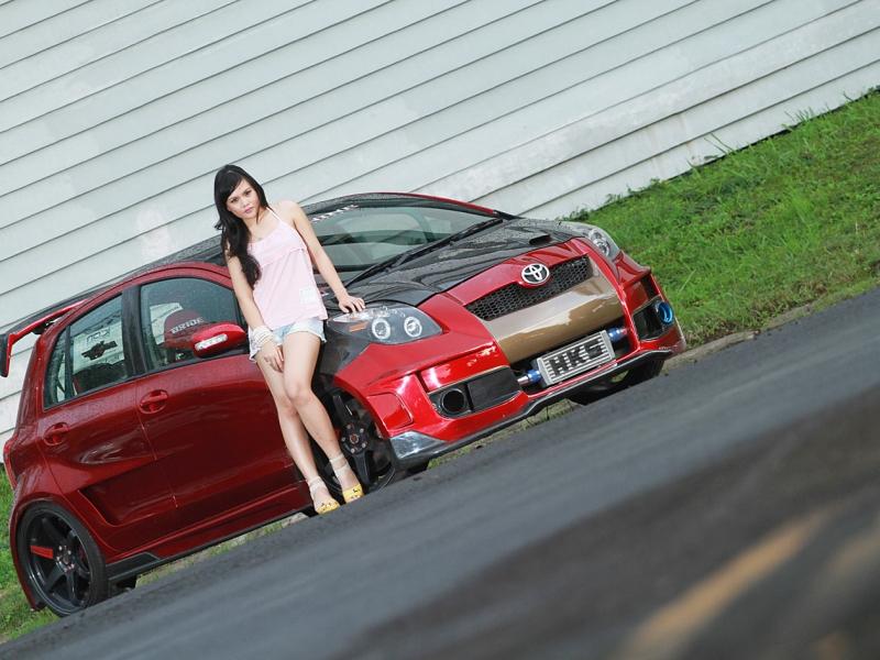 Toyota Yaris 2011: BELLA'S HOT CAR