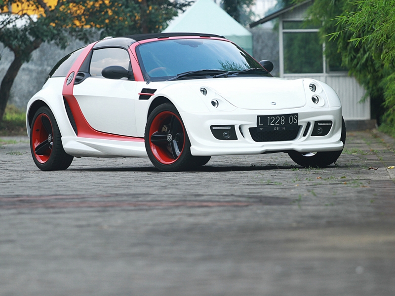 Mercy Smart Roadster 2006 Turbo: Eye Catching